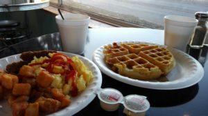 アメリカの食事