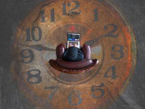 過去,時計