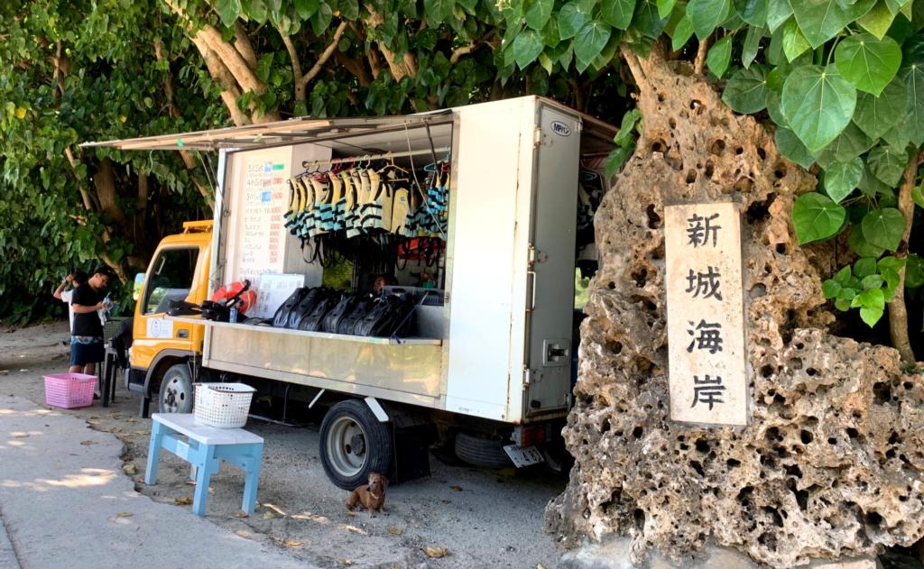 宮古島,シュノーケル,新垣海岸,画像